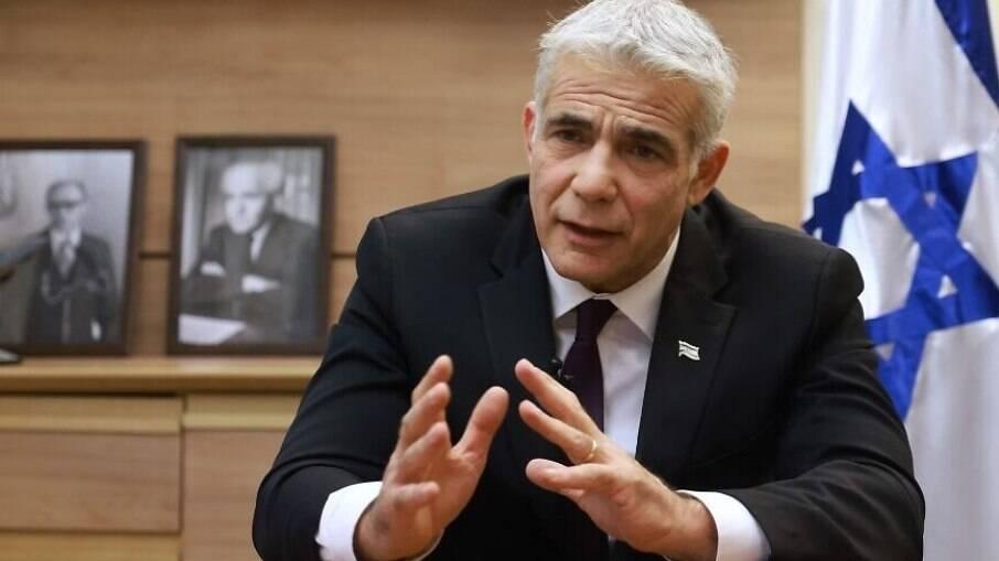 Yair Lapid, ministro das Relações Exteriores de Israel