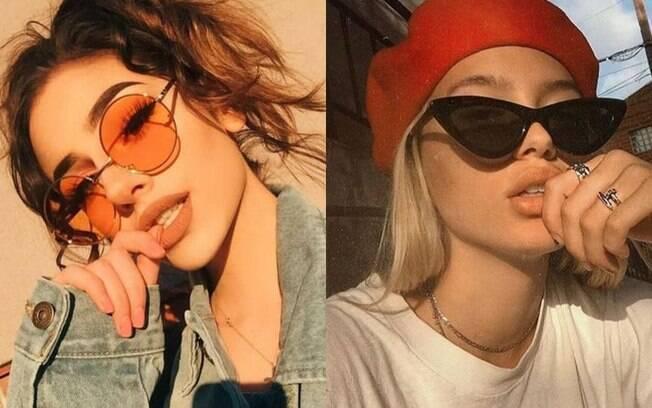 Os óculos de sol são quase prioridade para curtir o Lollapalooza com muito estilo e ainda ficar protegida do sol