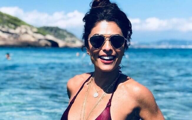 Juliana Paes tirou o ano de 2018 para ficar afastada da TV e aproveitou para fazer diversas viagens em família