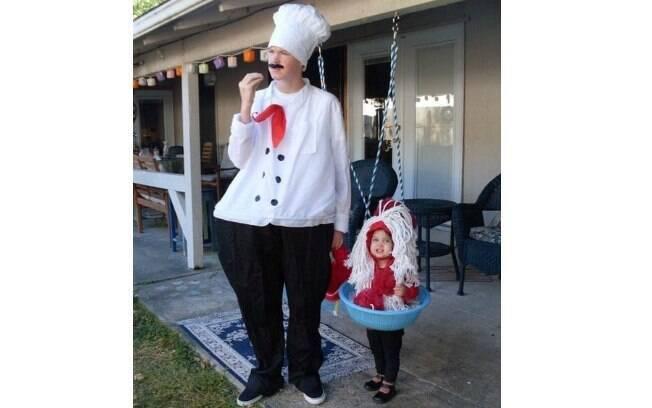 A chef de cozinha e a macarronada!