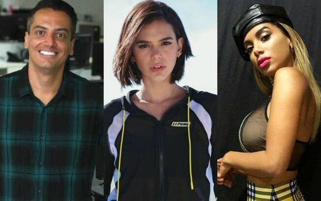 Leo Dias, Bruna Marquezine e Anitta