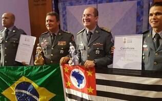 Bombeiros de SP ganham prêmio internacional por atuação no Largo do Paissandu