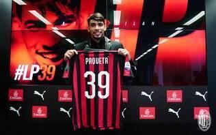 Paquetá chega ao Milan, fala sobre Kaká e brinca com conhecidos do video game