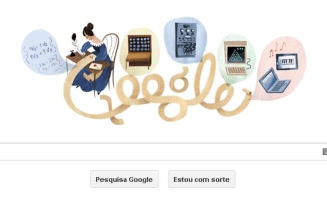 Ada Lovelace, primeira programadora da história, é lembrada em novo doodle