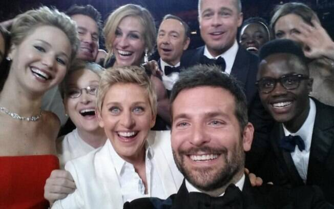 Selfie de Ellen Degeneres foi sucesso no Oscar deste ano