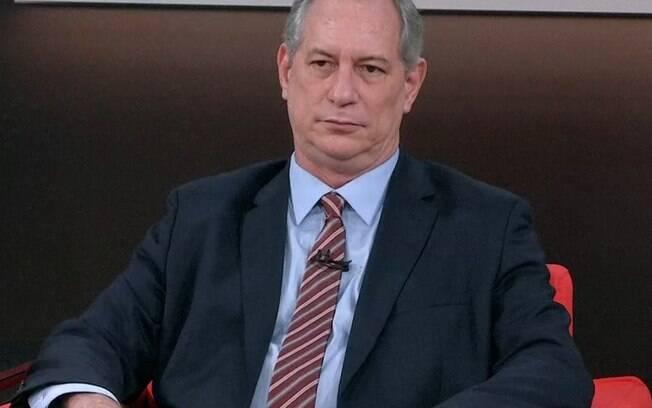 Ciro Gomes, candidato do PDT à Presidência da República