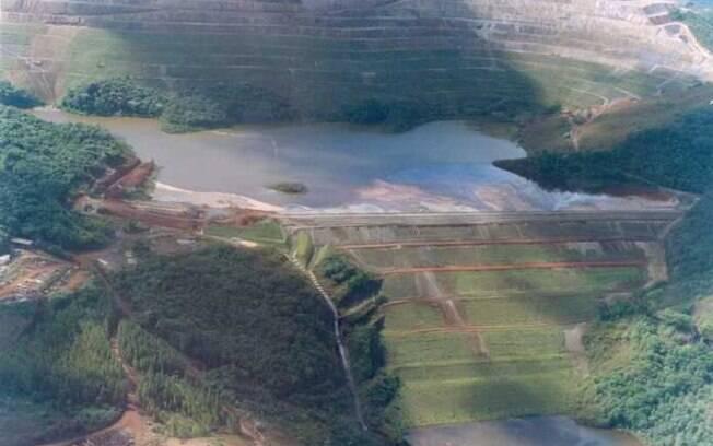 Barragem de Brão de Cocais vista de cima