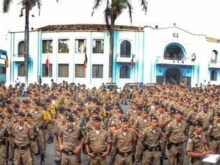 Novo batalhão tem quase três mil homens para atuar no evento