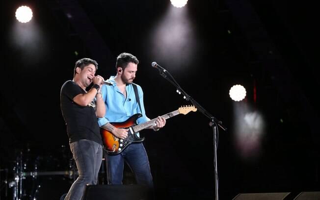Jorge & Mateus se apresentam no Villa Mix Festival, em São Paulo