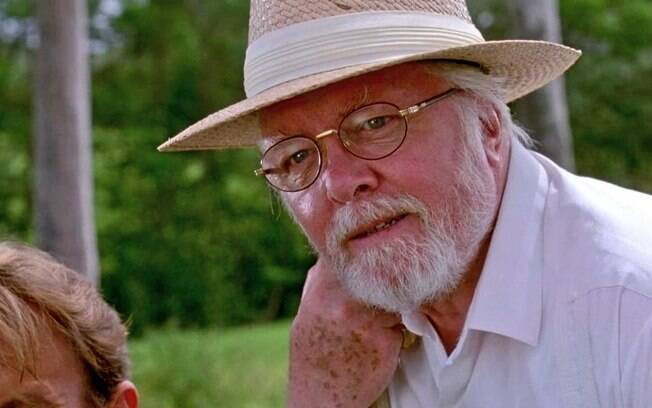 Richard Attenborough em cena em