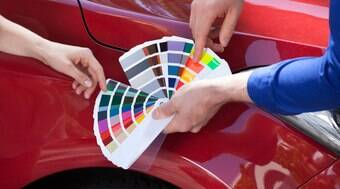 Descubra como são produzidas as cores para a repintura automotiva