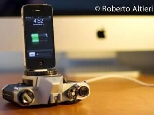 Dock feito com câmeras Pentax e Minolta podem ser adquiridos por US$ 39
