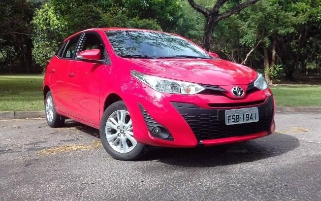 Toyota Yaris XL 1.3 CVT vem com rodas de liga-leve, mas sem o acabamento mais caprichado das versões 1.5 do compacto