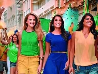 Para torcer pelo Brasil, a marca O Boticário criou a campanha da linha Intense Brasil em Festa