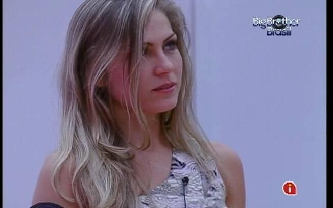 Renata diz não ter mais expectativas em relação a Jonas