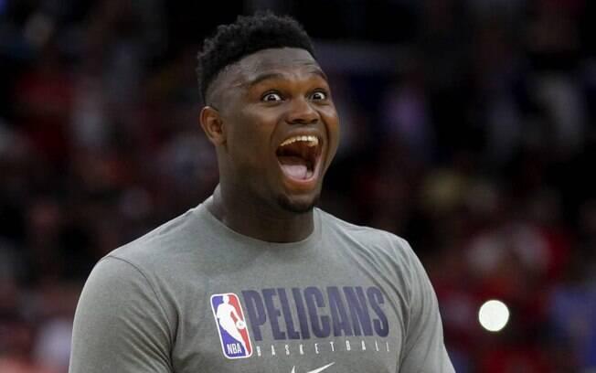 Zion é a sensação da temporada 2019/20 da NBA