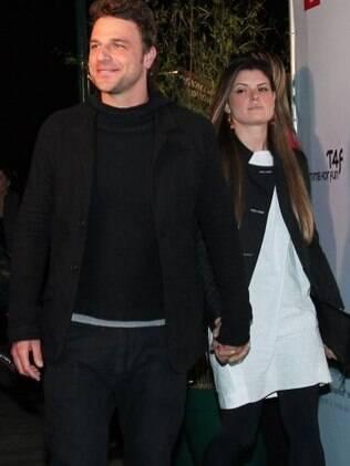 Cassio Reis e Paula Lucas estão juntos há cinco meses