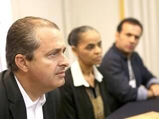 """Estilingue. Campos disse que o """"efeito Marina"""" trará resultados em agosto, com a propaganda na TV"""