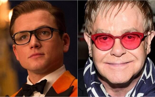 A cinebiografia sobre o icônico Elton John será protagonizada por Taron Egerton
