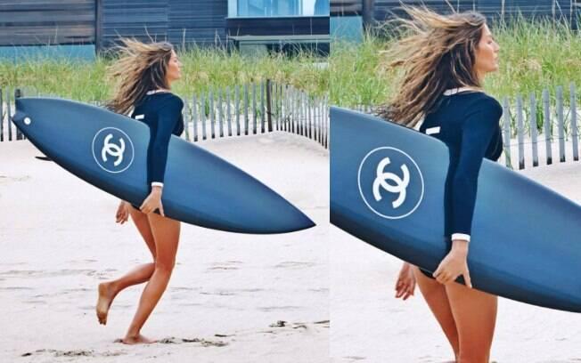 Gisele Bündchen mostra a primeira imagem da nova campanha da Chanel