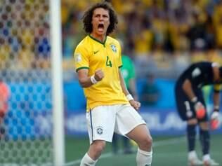 Com a maior nota do ranking, David Luiz fica à frente de atacantes e revelações desta Copa nas oitavas