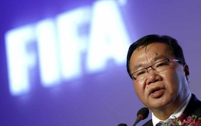 Além de vice-presidente da Fifa, David Chung era também presidente da  Confederação de Futebol da Oceania