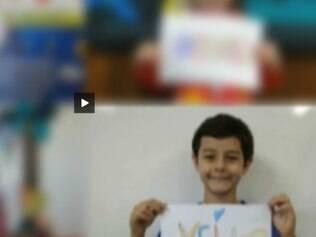 Um vídeo publicado na internet pelo Colégio Ipiranga, onde o menino Bernardo Boldrini estudava, mostra a criança fazendo uma homenagem à madrasta no Dia das Mães em 2011