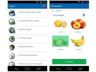 Gratuito, o Busuu está disponível para iOS e Android e é uma rede social de aprendizado de idiomas com exercícios e contato com nativos das línguas estudadas