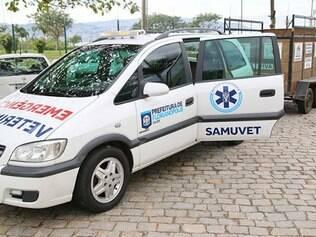 Samu para animais foi criado com dinheiro de doações
