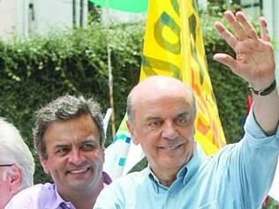 Aécio Neves e José Serra podem formar uma chapa puro-sangue