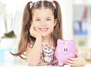 Educação financeira deve ser ensinada para as crianças a partir dos quatro anos de idade.