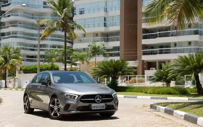 Mercedes-Benz Classe A é um dos únicos hatches compactos do segmento premium à venda no Brasil hoje em dia