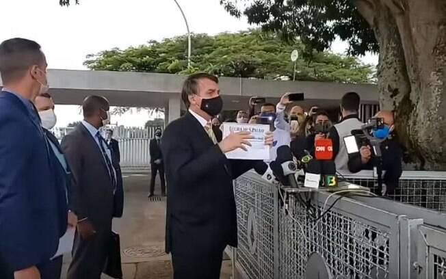 Bolsonaro imprensa jornalistas