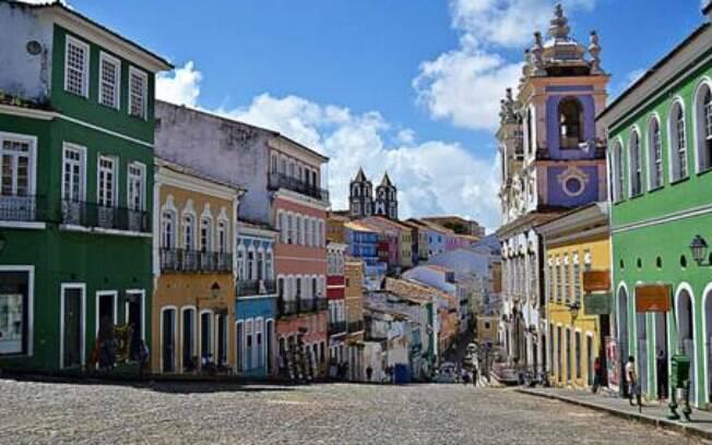 Pelourinho é uma das principais atrações da Bahia