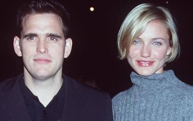O romance começou durante as filmagens de 'Quem vai ficar com Mary?', em 1998 e durou quase três anos.