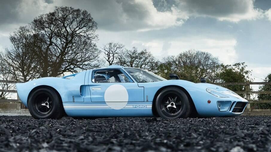 Ford GT40 1969 foi o último exemplar feito e deverá ser arrematado por mais do que US$ 2,5 milhões, ou quase R$ 14 milhões