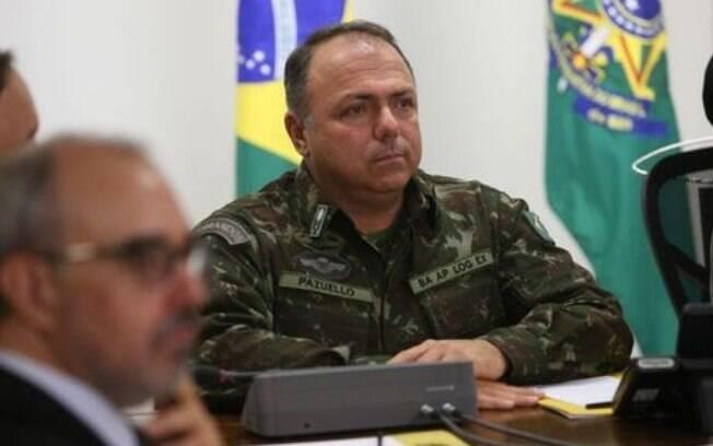 General e ministro interino Eduardo Pazuello
