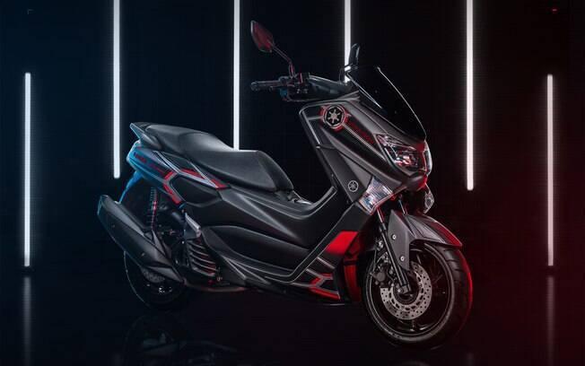 Yamaha NMax Império Galático: série limitada do scooter  vem com uma lista de itens exclusivos em alusão a Star Wars