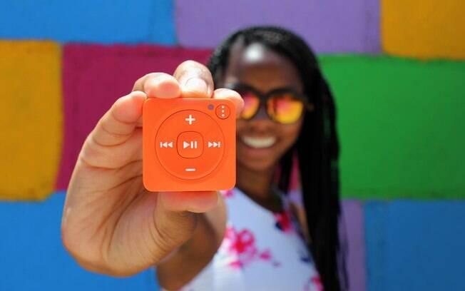 Tocador de música do Spotify, Mighty Audio oferece saída de fone de ouvido, mas também é compatível com fones sem fio