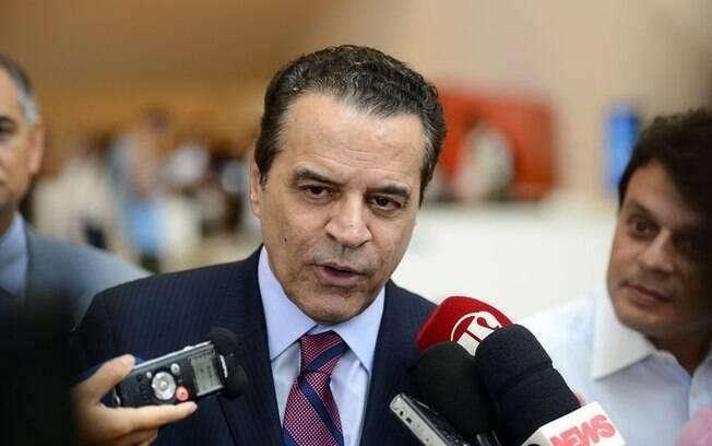Henrique Eduardo Alves ocupou durante 11 meses o cargo de ministro do Turismo. Ele anunciou sua demissão no dia 28 de março. Foto: Tomaz Silva/Agência Brasil - 16.03.16