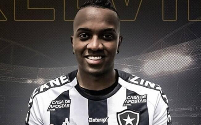 Kelvin é o novo reforço do Botafogo