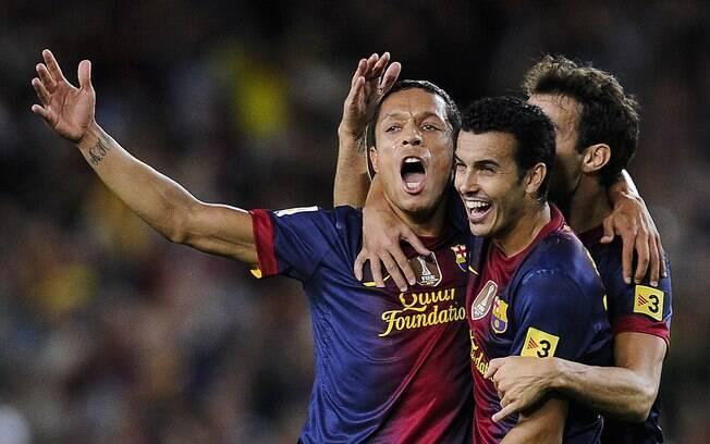 Na terceira rodada, a terceira vitória  consecutiva. Adriano marcou que definiu o 1 a 0  sobre o Valencia
