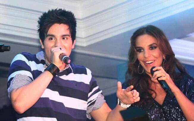 Ivete Sangalo e Luan Santana