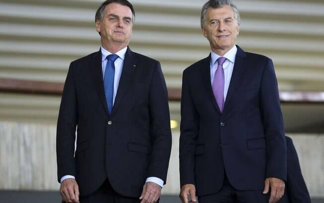 Esta é a primeira visita de Bolsonaro ao principal parceiro comercial do Brasil na América do Sul