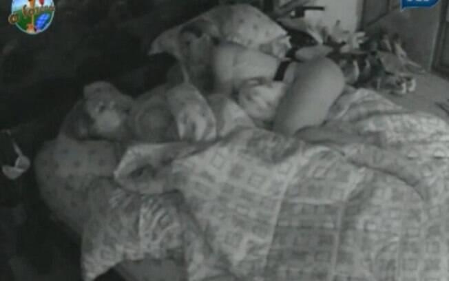 Peões foram para a cama após a festa