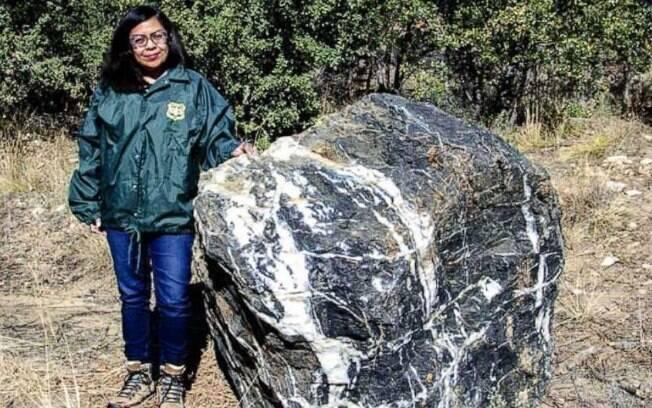 Pedra foi registrada como desaparecida por moradores da região