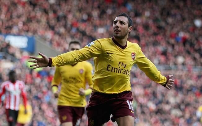 Cazorla marcou o gol da vitória do Arsenal