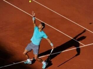 O tenista espanhol seguiu na luta pelo seu nono título do Grand Slam francês