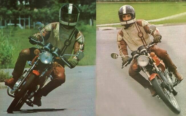 A motocicleta mais legal que pilotei para a Auto Esporte foi a Honda Turuna, de 1979