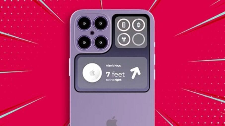 Simulação do iPhone 14